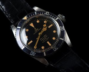 TUDOR Reference 7924. Big crown version. M.N. issued. Photo by Maurits / DrStrong. Linked with permission.