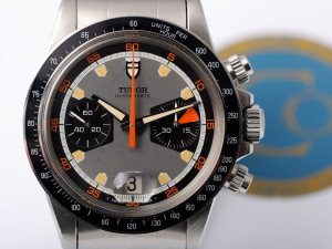 TUDOR 7031. Note the 6263 style bezel and grey base color. Photo by Bas.