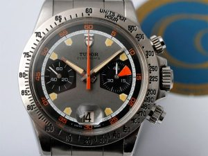 TUDOR 7032. Note the 6263 style bezel and grey base color. Photo by Bas.